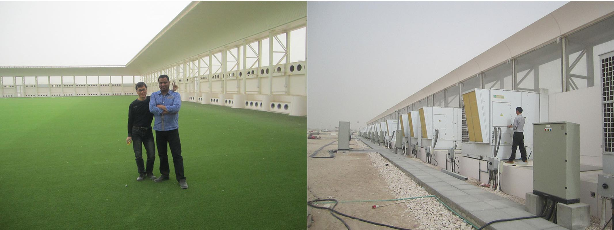 Patent Product FAO₂ Air Conditioning Is Used In Qatar Football Stadium​